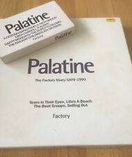 Rare Factory Records Palatine CD boxed Set With VHS Tape And Booklet 1979-1990