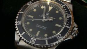 Vintage Rolex Submariner 5513 |  meters first dial  | full-set, 1967 year