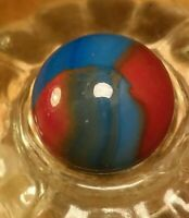Burnt Spiderman / Oxblood Marble King or NLR Opaque VINTAGE Marbles .60""