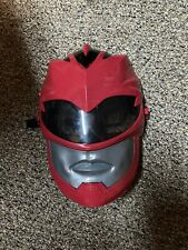 Red Ranger Mask Power Rangers Movie FX  2016 Mighty Morphin Talking Toy Bandai