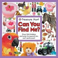 Treasure Hunt Can You Find Me? (Seek and Find Book), Priddy, Roger, Good Book