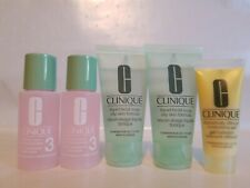 Clinique 3 Step Dramatically Moisturizing Gel Oily Facial Soap Clarifying Lotion
