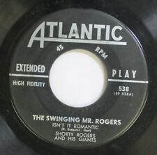Jazz 45 The Swinging Mr. Rogers - Isn'T It Romantic / Oh Play That Thing On Atla