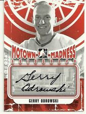 2012-13 IN THE GAME - MOTOWN MADNESS - GARRY ODROWSKI AUTO - A-GO - RED WINGS