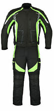 Motorcycle Motorbike Textile Jacket Trouser Pant Suit Waterproof CE Armoured