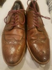 Johnston & Murphy Conard Wingtip Brown Casual Shoes Size 8.5M FREE SHIPPING!