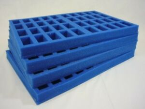 KR Multicase, wargaming figure case & foam trays carry 160 troops (KRM-N4S)