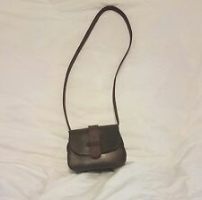 100% leather cross body purse