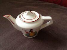 antique miniature teapot SNOW WHITE art deco wadeheath
