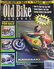 Old Bike Journal Magazine August 1995 How to Seal your Gas Tank 1970 H1R Triple