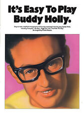 Its Easy To Play Buddy Holly Learn PEGGY SUE Piano Guitar PVG Music Book