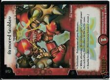 DUEL MASTERS PROMO HOLO N° L1/6 Y1 ARMORED GROBLAU  ♥♥♥ NEUF (Mint Condition)