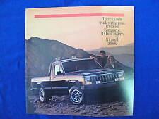1986 Jeep Full Line-up Sales Brochure C5451
