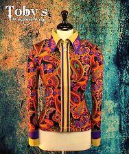 2X-LARGE Showmanship Pleasure Western Horsemanship Show Jacket Shirt Rodeo Queen