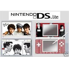 nintendo DS Lite - JONAS BROTHERS BROS - 4 Piece Sticker Skin vinyl