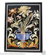 4'x2' Marble Granite Dining Table Top Marquetry Mosaic Inlaid Work Decor Arts