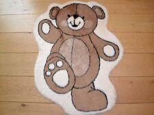 Cute Dancing Teddy Bear Warm Fun Rug Fluffy Furry Baby Bedroom Floor Mat Cheap