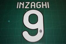 AC Milan 11/12 #9 INZAGHI Homekit / 3rd Awaykit Nameset Printing