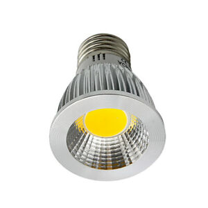 E27 3W COB Led Light Bulbs Spotlight Lamp Warm White 110V 220V Indoor Kitchen