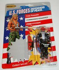 VINTAGE REMCO US FORCES ~ SWAMP MAN ~ MOC ~ AMERICAN DEFENSE GI JOE KO
