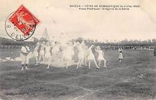 CPA 14 bayeux gymnastic feasts 1909 allegorie plastic poses of dance