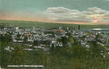 Postcard Lewisburg PA From College Hills Union County E 2303 Lindig's Art Store