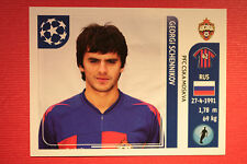 PANINI CHAMPIONS LEAGUE 2011/12 N 96 SCHENNIKOV CSKA WITH BLACK BACK MINT!!
