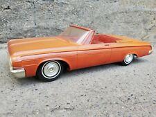 JoHan 1964 Dodge Polara Convertible Friction Dealer Promo 1:25 Plastic Model Car