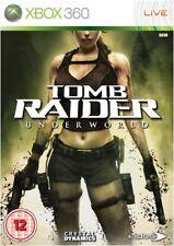 Tomb Raider: Underworld Xbox 360 NEU und versiegelt original UK Version