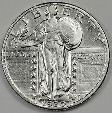1930 Standing Liberty Quarter.  A.U.  85081 (Inv. E)