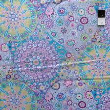 Kaffe Fassett PWGP92 Millefiore Lilac Cotton Fabric By The Yard