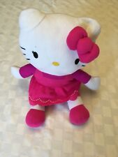 "Hello Kitty by Sanrio Kitty Butterfly Plush Stuffed Animal Toy 15"" Pink Dress"