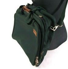 Eddie Bauer Shoulder Bag Laptop Messenger Green Nylon Bag L32.15.5