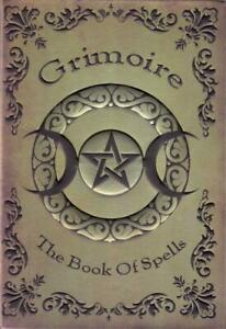 Grimoire Book of Spells, Blank Book of Shadows!