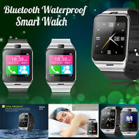 GV18 Bluetooth Smart Watch Waterproof GSM NFC Camera For iPhone Android Phone PC