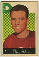 1962-63 Parkhurst #21 Norm Ullman VG Condition (041220-01)
