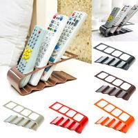 TV/DVD/VCR Step Remote Control Cradle Mobile Phone Holder Stand Storage Bracket