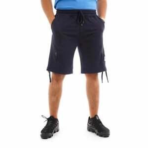 C.P. Company Mens Zip Pocket Sweat Shorts (Navy)