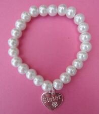 Handmade Pearl Silver Plated Costume Bracelets