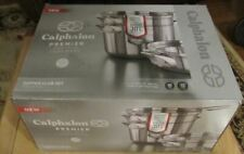Calphalon 5-Pc. Premier Space Saving Stainless Steel Stacking Cookware 2032760