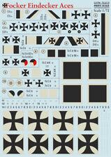 Imprimé échelle 1/72 Fokker Eindecker Aces # 72213