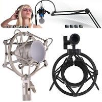Professional Mic Shock Mount Holder For Large Diaphragm Condenser Microphones