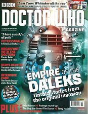 DOCTOR WHO MAGAZINE # 522 (EMPIRE of the DALEKS, MAR 2018), NM NEW