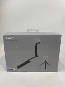NEW - GoPro Official Mount GoPro 3-Way Grip Arm Tripod Fits All GoPro Camera
