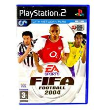 Playstation 2 PS2 Game Fifa Football 2004 with Network Play Pal