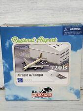 Dragon Wings 1:400 Regional Airport Hangar w/ Continental 720B 56154 Diecast New