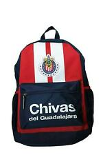 chivas backpack school mochila bookbag cinch mexico navy chicharito rayadas