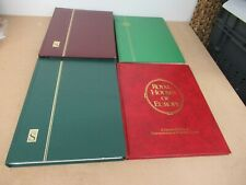 World stamps collection in 3 large stockbooks + album (1000s)