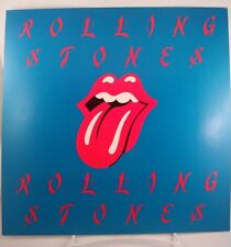 "Rolling Stones Tongue/Logo RecordStore Promo poster flat 12""X12"" Jagger Richards"