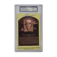 Chipper Jones GEM MT 10 Autographed & Encapsulated HOF Plaque Card (PSA)